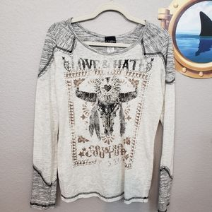 Daytrip from Buckle Cowboy Couture Tee